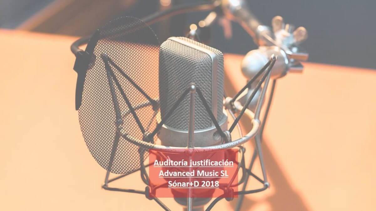 Auditoria Academia Catalana de la Música (TEC092/18/000001)