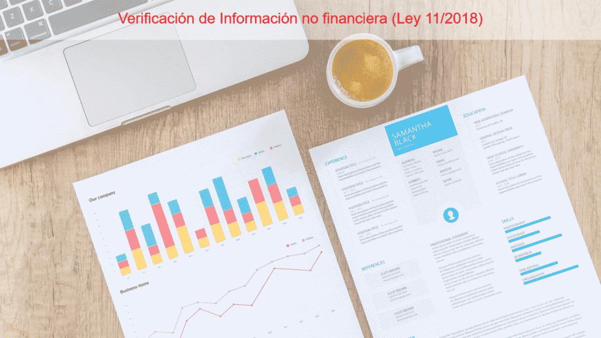 Verificación información no financiera auditor