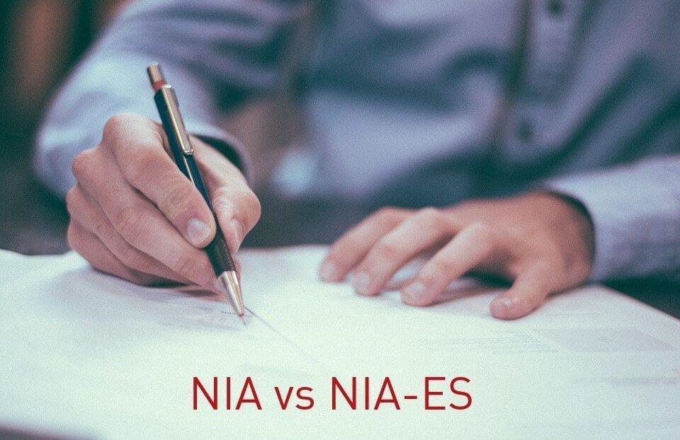 Diferencia entre NIA y NIAS
